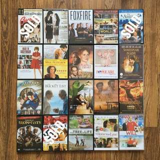 Assorted DVDs for sale (Part 2)