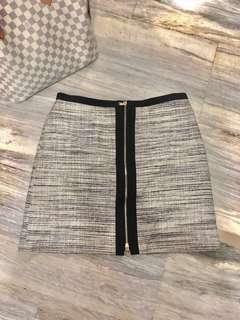Ann Taylor Skirt Zipper Front