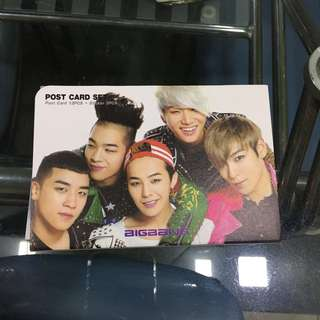 BIGBANG postcard set
