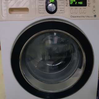 Samsung 8kg/5kg Washer and dryer...still using and very good working condition.. 1400 RPm. If interested please message me.