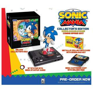PS4 SONIC MANIA: COLLECTOR'S EDT