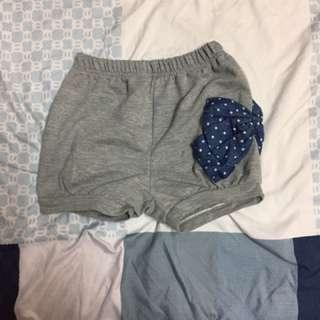 女童側邊大蝴蝶結短褲9