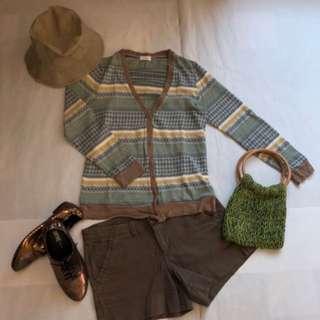 🚚 香草天空🌱棉線針織小外套