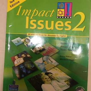Impact issues2 二手可議