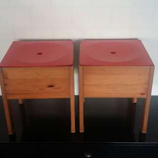 Kids Bedside Table - Storage Table - Toy storage