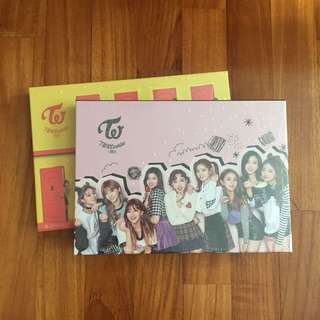 instock twice lane 2 pink yellow knock knock sealed album