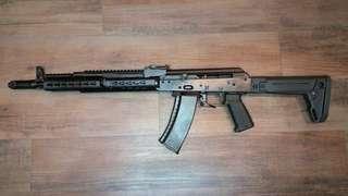 High end replica AK 74 rifle