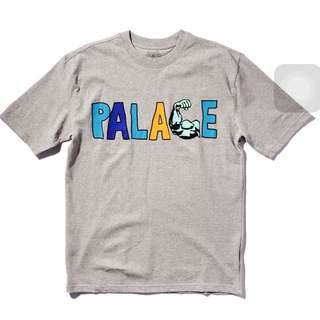 Palace muscle tee灰色 二手 M號