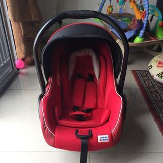 Baby Car Seat Sweet Cherry