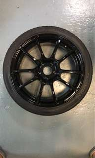 "18"" Rep Sports Rims with tyres!"