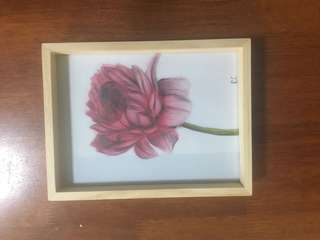 Graphite flower