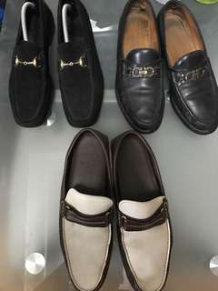 gucci ferragamo bally loafers driving shoes