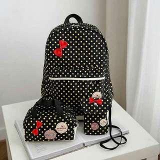 Korean bagpack 3in1