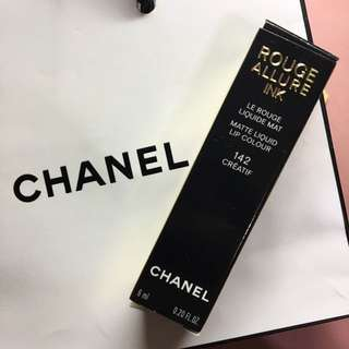 🚚 Chanel Rouge Allure Ink 142