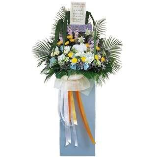 Heartfelt Wreath (Funeral Flowers)