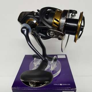 (NEW & Just In Place.!)- The 2017 model, Daiwa (LIGHT TOUGH) Spinning Reel- LEGALIS LT 5000D-CXH. (Reel Wt: 250g, Gear ratio: 6.2:1, Max drag: 12kg).
