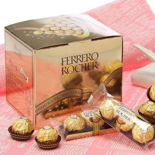 【費列羅】金莎巧克力48顆入(16條/盒) (37.5g*16條*3粒入)