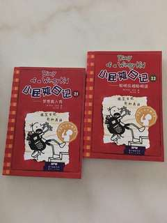Diary Of A Wimpy Kid Books 21 & 22