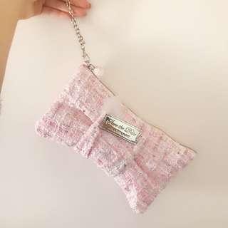全新Jill Stuart pink clutch 迷人粉手袋包包