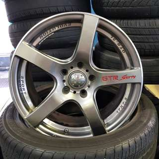 17' Sport Rim for Toyota Estima X 4pcs