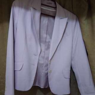 Millenial Pink Blazer