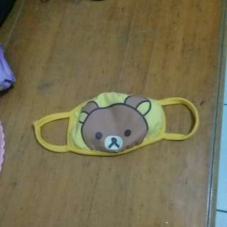 Masker wajah Rilakkuma