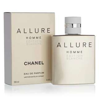Chanel Allure Homme Edition Blanche EDP for Men (100ml/150ml/Tester) Eau de Parfum White