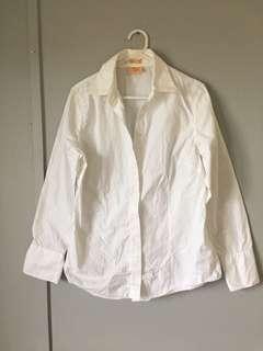 Womens RM Williams White Button Down Shirt 12