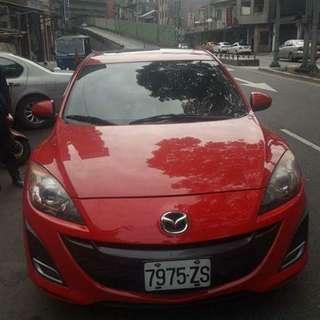 【廠牌】: 馬自達 【型式】:馬三 紅色黑內裝 【年份】:2011年 【排氣量】:1.6L 【檔位】:自排  【售價】:36萬8 【地區】: 北投 【車況】: 天窗 全新四條胎皮 前置DVD螢幕主機 📲Line:King09091988      有興趣歡迎 Fb私訊 Jin Ming