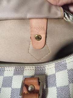 Authentic Lv speedy 30 made in france