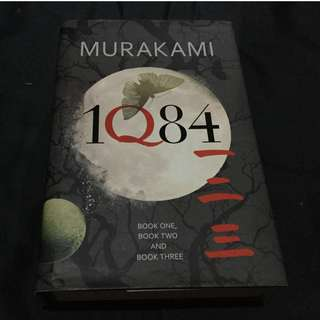 MURAKAMI - 1Q84 (Book I, II, & III hardbound) First Edition