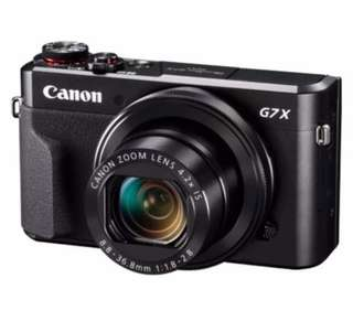 Almost New Canon PowerShot G7X Mark II Digital Camera