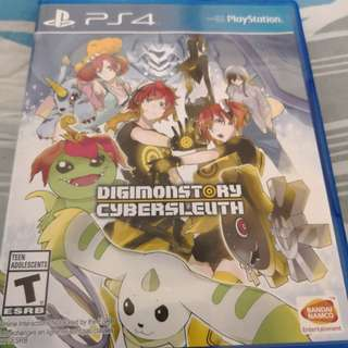 Digimonstory cybersleuth ps4