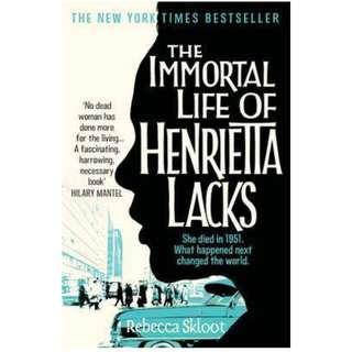 Ebook- The Immortal Life of Henrietta Lacks