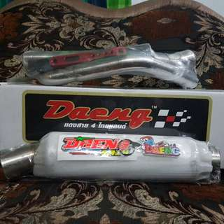 For Sale Daeng Pipe for Raider 150