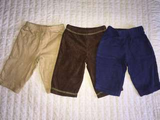 Carter's Pants for baby boy. Authentic Brand