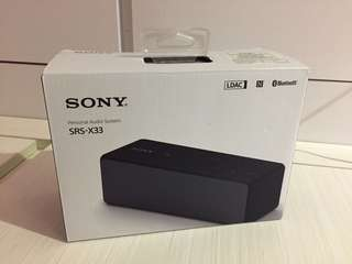 Sony SRS-X33 Bluetooth Speaker
