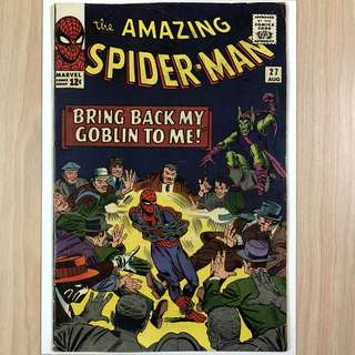 MARVEL COMICS The Amazing Spider-Man #37-Green Goblin Appearance|Death of the Crime Master (Serious Buyers Only)