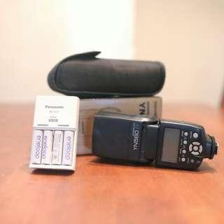 Speedlite YN560 IV & Eneloop Rechargeable Battery