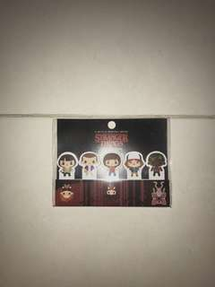 Stranger things sticky notes