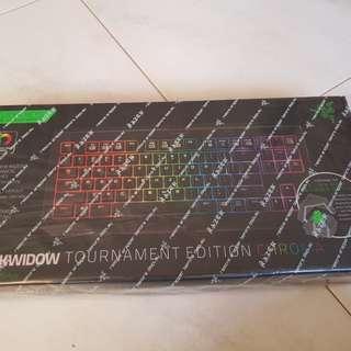 Razer Blackwidow Chroma Tournament Edition GREEN SWITCH CLICKY