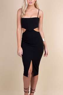 Zachary - Black Vilena Dress