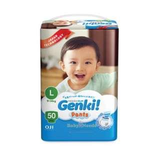 Genki pants L size