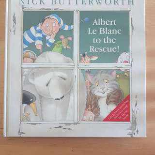 Book - Albert Le Blanc to the Rescue (Gift Edition including audio CD) *FINAL SALE! In brand new condition*