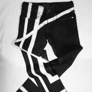 BlackBarrette skinny denim pants