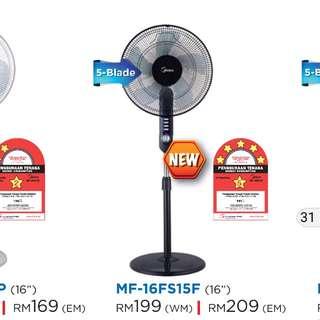 Midea Stand Fan MF-16FS15F