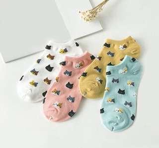 Cute Cat Socks