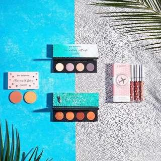 Colourpop x mylifeaseva eyeshadow, lip bundle, blotted, glossy & face duo