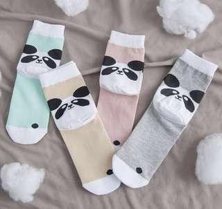Harajuku Panda Socks