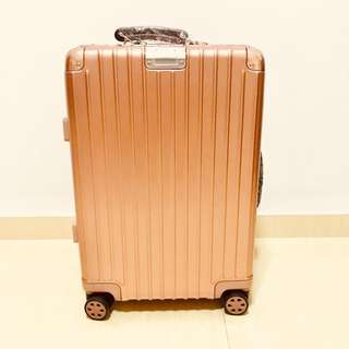 """Unique and Stylish 20"""" Rose Gold Travel Luggage Cabin Size Hand Carry, Light weight"""